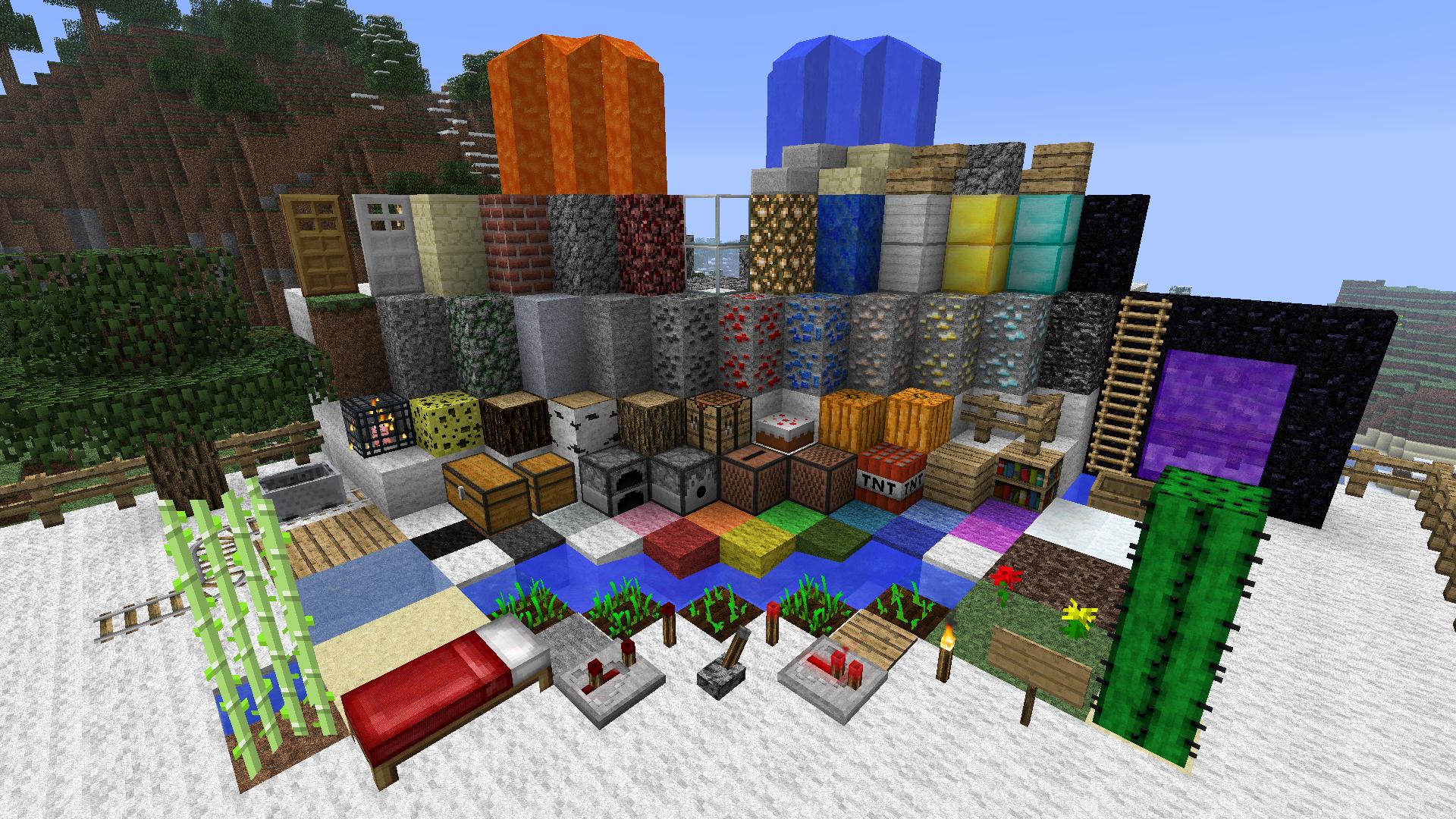Tous les blocs de R3d craft