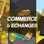 Commerce et échanges avec les villageois de Minecraft