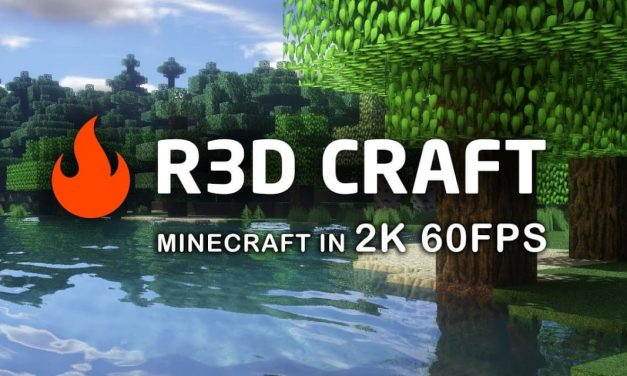 R3D CRAFT – Pack de Textures – 1.9 → 1.12