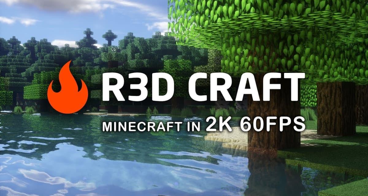 R3D CRAFT – Pack de Textures – 1.9 → 1.12