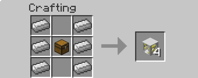 recipe itemtower [1.6.2] More Storage