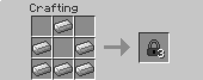 recipe lock [1.6.2] More Storage