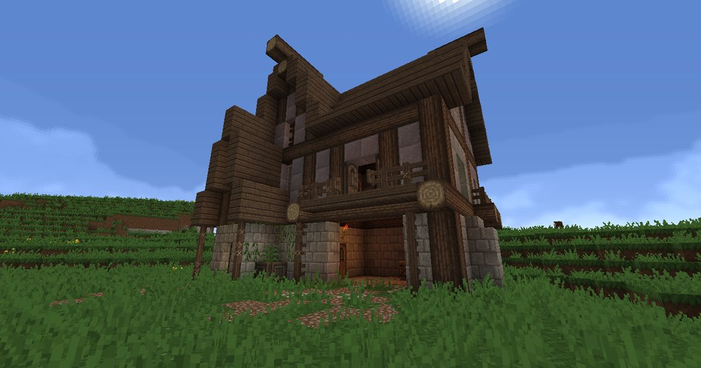 1 7 2 chivalry for Exemple de maison minecraft