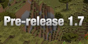Pre-release 1.7 et 1.7.1