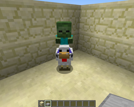 Chicken Jockey 450x360 Minecraft 1.7.4