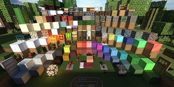 Equanimity pack de texture blocs
