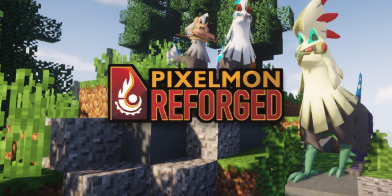 Pixelmon – Mod : 1.7.10 → 1.12.2