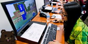 Un professeur intègre Minecraft dans ses cours