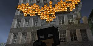 25 affiches de films version Minecraft
