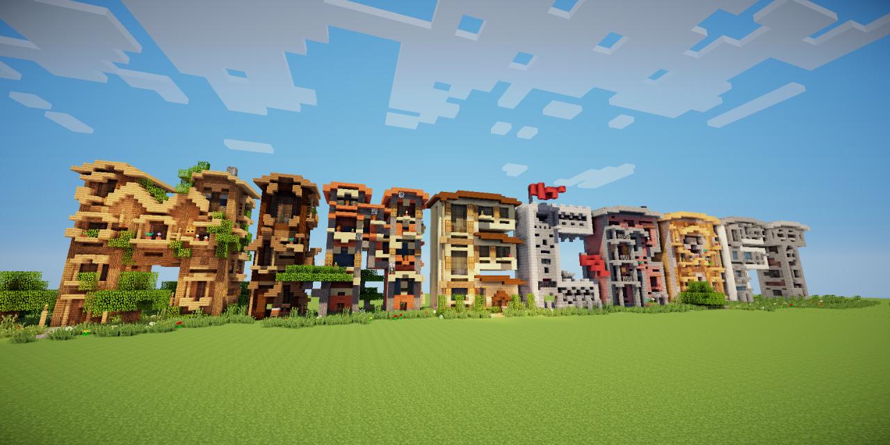 M.I.N.E.C.R.A.F.T – Build Maison