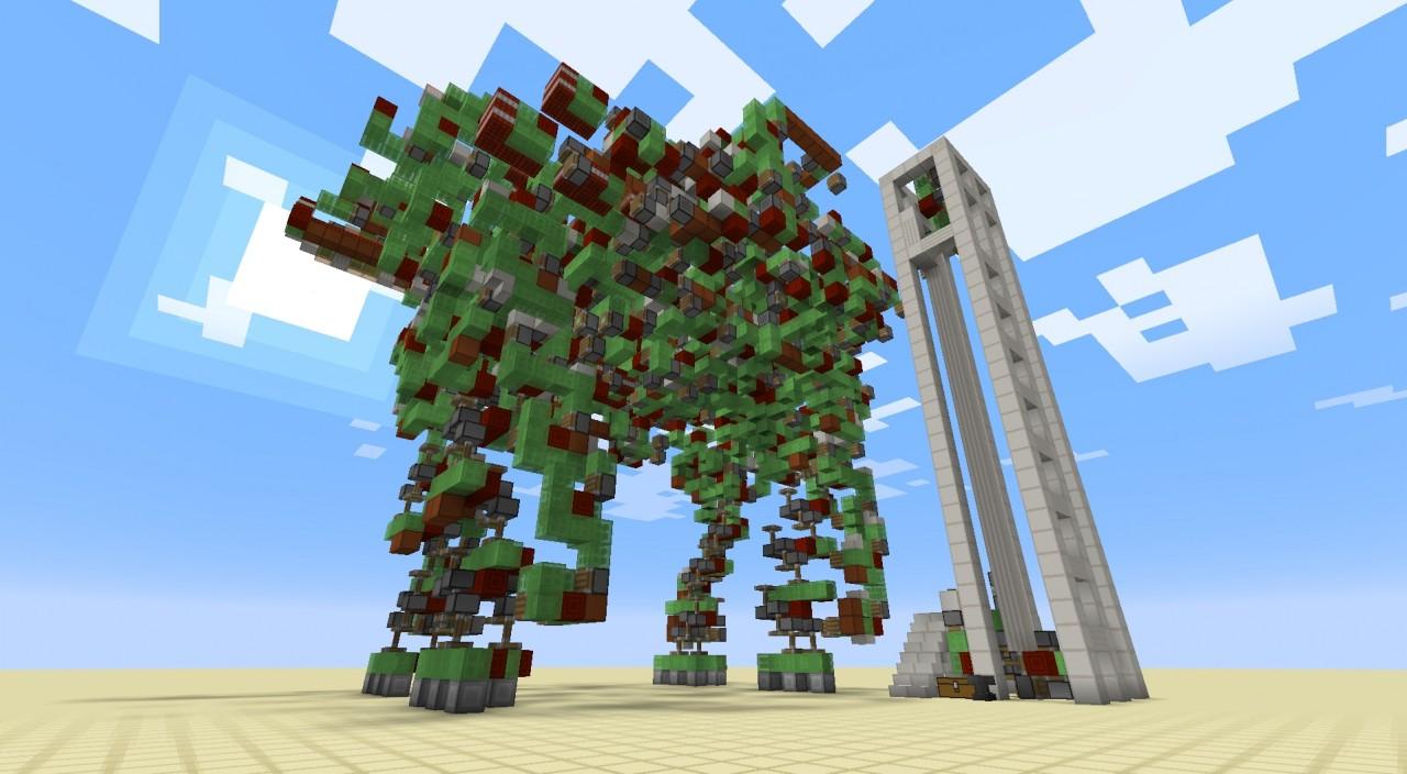 Robot De Combat G 233 Ant Minecraft Fr