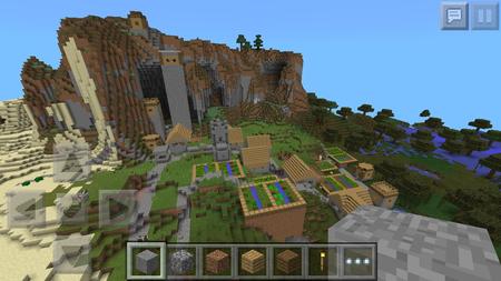 comment avoir un village dans minecraft pe