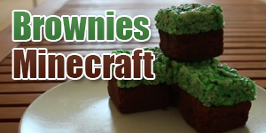 Faire des brownies Minecraft