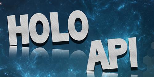 HoloAPI – Affichez du texte sur votre serveur