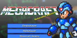 Megacraft – Pack de textures Megaman