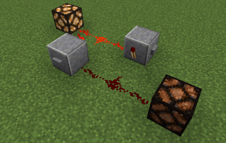 porte rs nor latch redstone minecraft