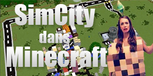 SimCity dans Minecraft
