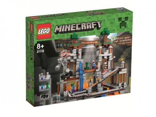 Les premières photos des nouveaux packs LEGO Minecraft
