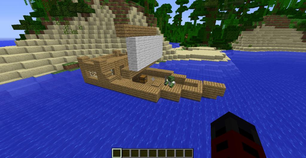 Pirates 1.7.10 1.6.4 моды для майнкрафт minecraft inside