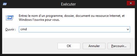 Ouvrir la console Windows