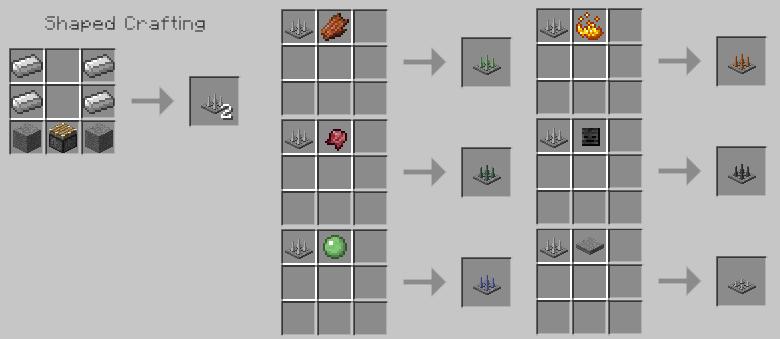 Torch levers mod 1 - Comment faire une table dans minecraft ...