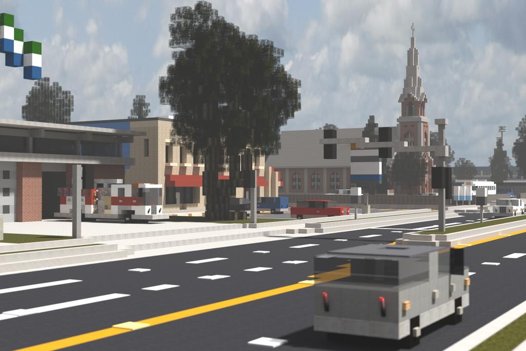Huntington City 2015 Minecraftfr
