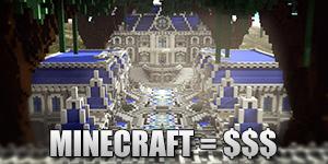 Minecraft rapporte beaucoup d'argent à Microsoft