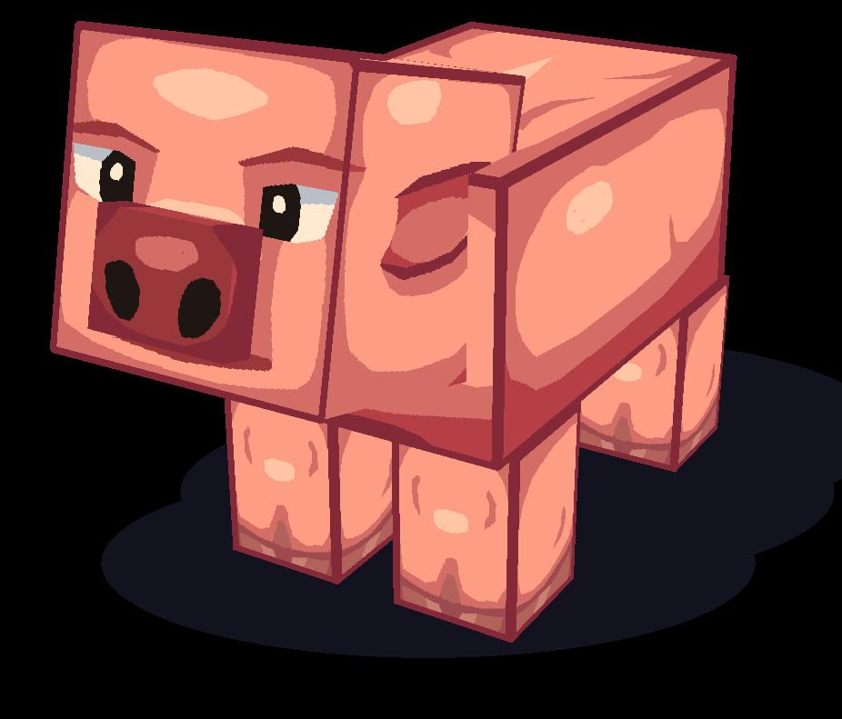 Triton - Minecraft cochon ...