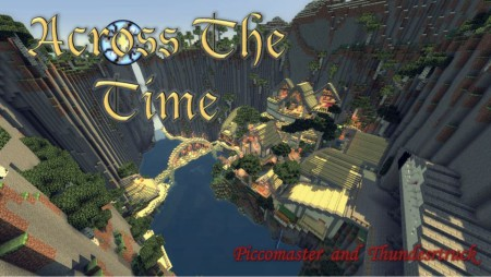 Across The Time map minecraft