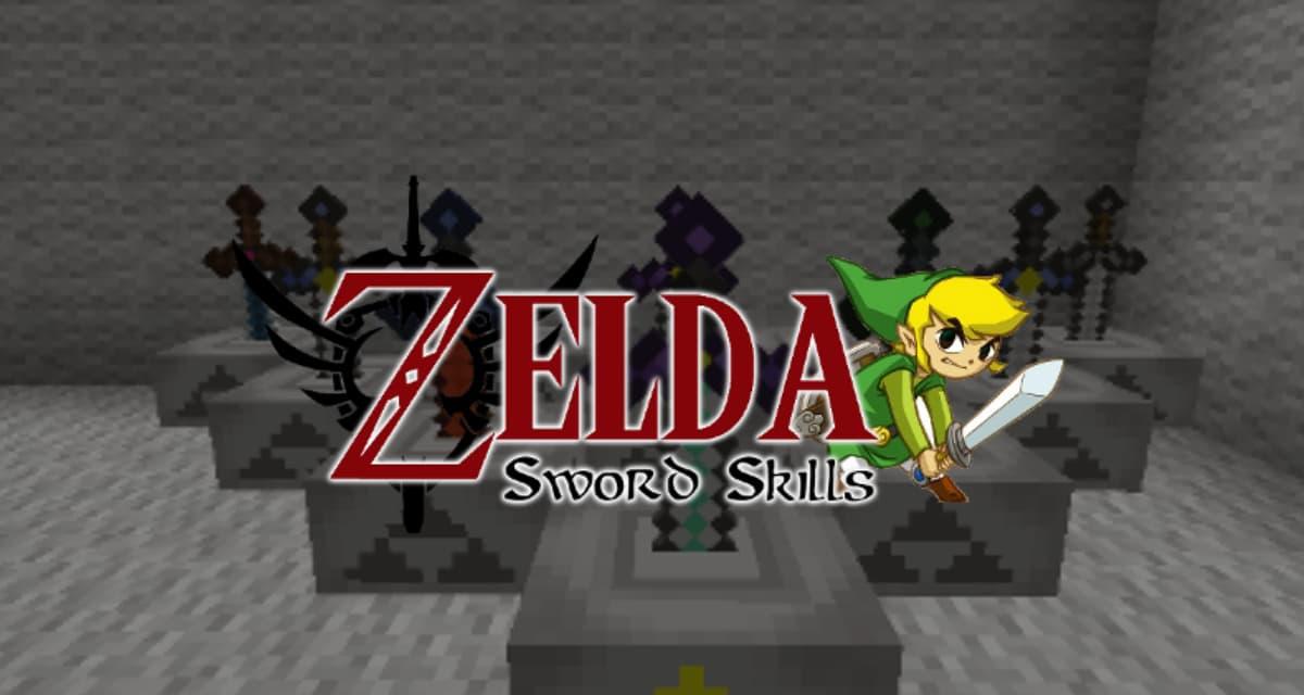 Zelda Sword Skills – Mod Minecraft – 1.7.10 / 1.8.9