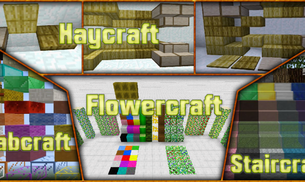 [1.7.10]Flowercraft, Staircraft, Slabcraft, Haycraft