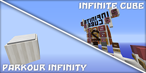 Parkour Infinity & Infinite Cube 2 [1.8]