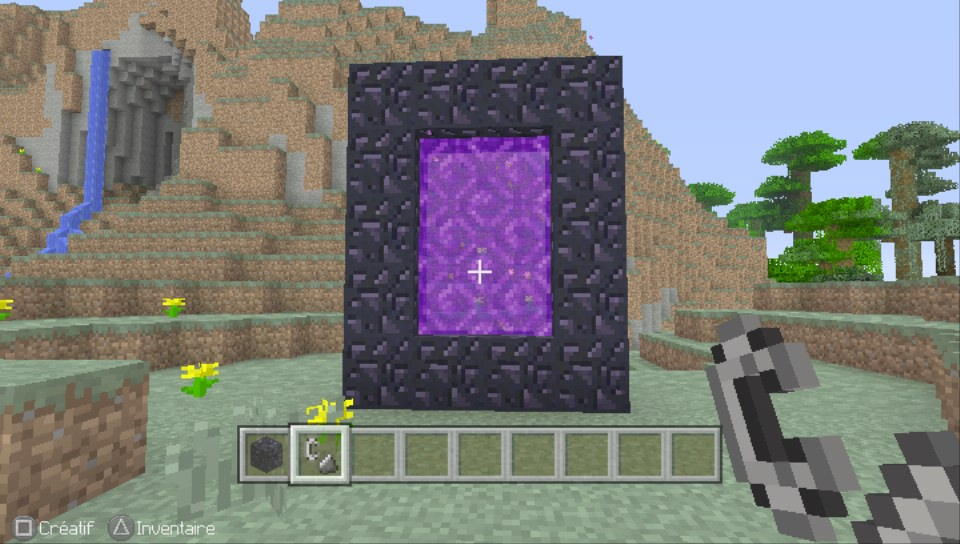 Minecraft sur psvita for Ou apparait la pelle dans artisanat minecraft