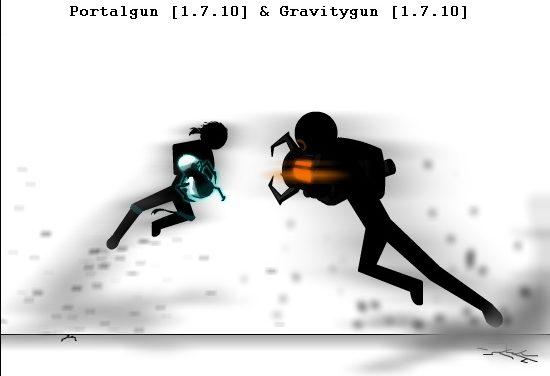 [1.7.10] Portalgun & Gravitygun