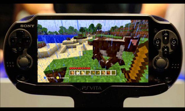 Minecraft sur PSVITA