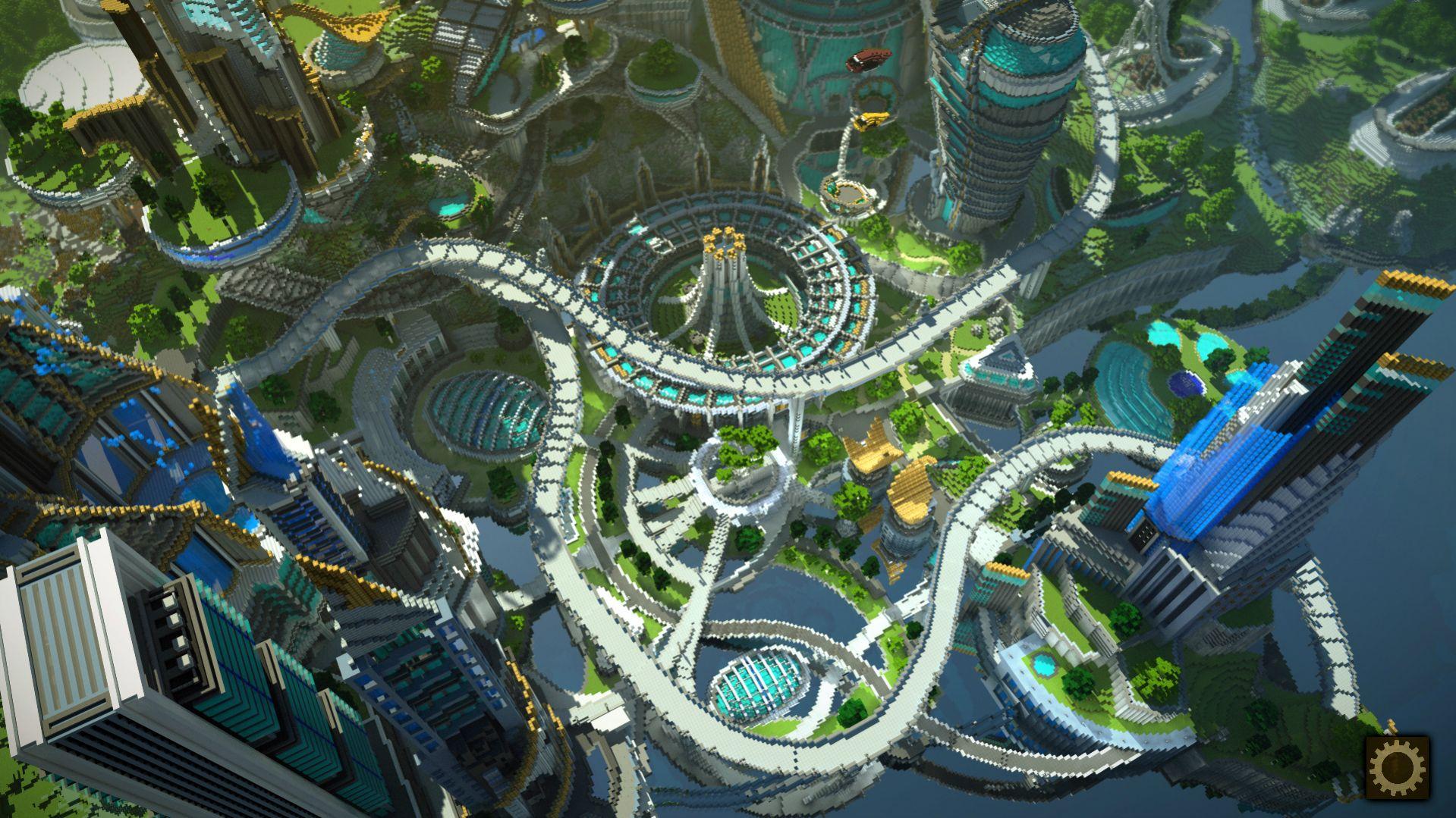 Tomorrowland dans Minecraft   Minecraft.fr
