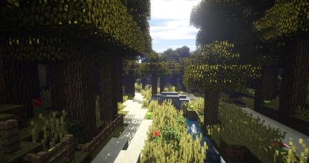 """Petit coin écarté dans la nature plus communément appelé la """"Vallée fleurie"""""""