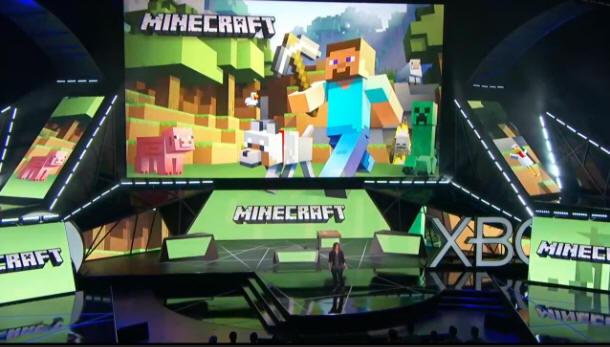 Minecraft sur l'hololens à l'E3