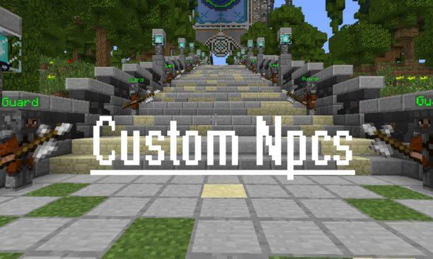 Custom NPCs – Mod – 1.7.10 → 1.12.2