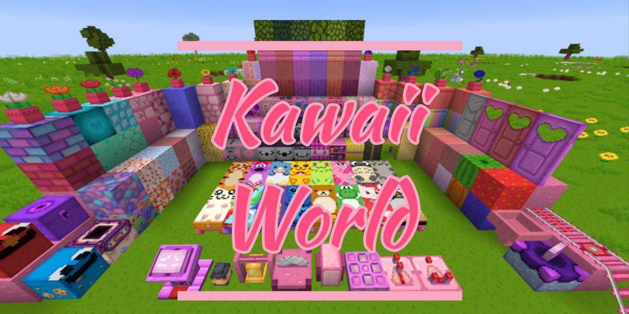 [Pack de Textures] Kawaii World – 1.14