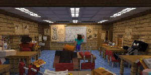 Education made in Minecraft