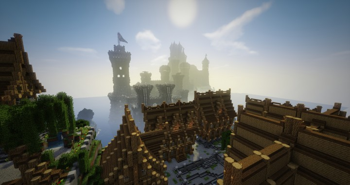 Lothaven medieval city for Ville su minecraft