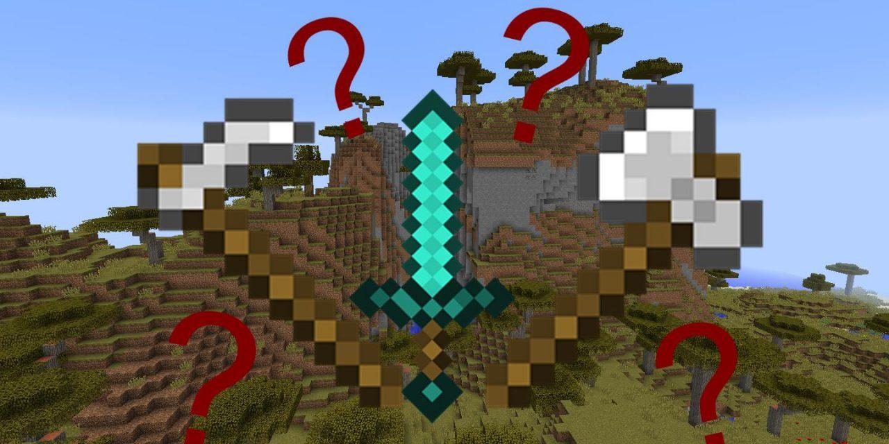 L'arme la plus rentable dans Minecraft