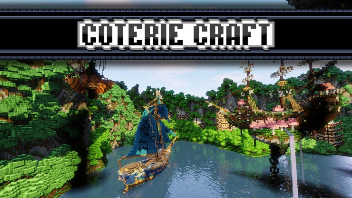 Pack de Textures Coterie Craft - 1.7 → 1.15 • Minecraft.fr