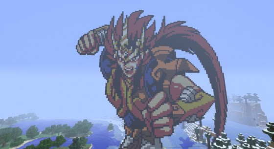 Le Pixel Art Dans Minecraft Minecraftfr