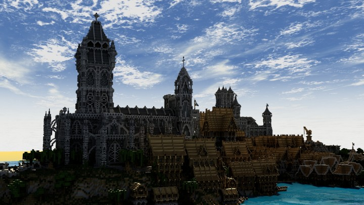 Lothaven medieval city for Taille moyenne d une maison
