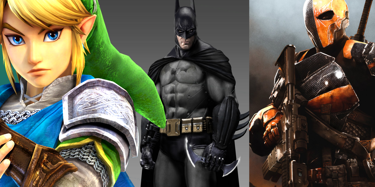 Trois No-Mods Fun #2 Link, Batman, Deathstroke