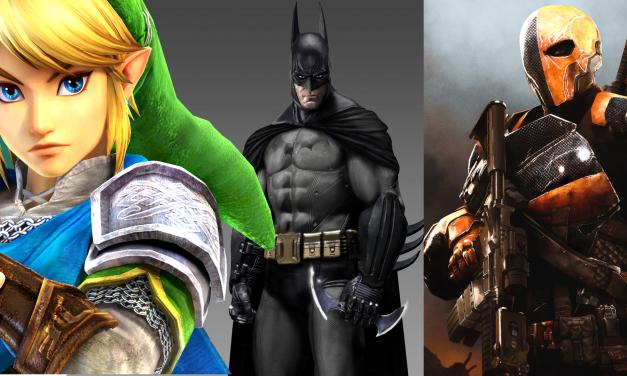 Trois No-Mods Fun #2 Link, Batman, Deathstroke