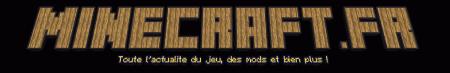 logo minecraft.fr avec Textcraft