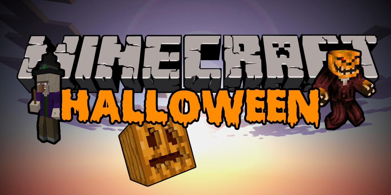 Passer Halloween sur Minecraft
